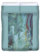 Waterfall Angel Duvet Cover