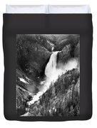 Waterfall, C1900 Duvet Cover