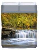 Waterfall Glen, Lemont, Il Duvet Cover