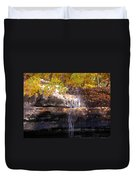 Waterfall In Creve Coeur Duvet Cover