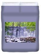 Waterfall In Gladwyne Duvet Cover