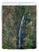 Waterfall In The Intag 2 Duvet Cover
