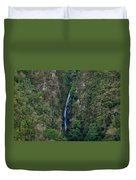 Waterfall In The Intag 5 Duvet Cover