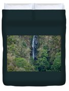 Waterfall In The Intag 6 Duvet Cover