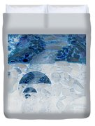 Waterfall In The Moon Duvet Cover