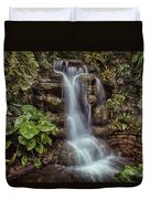 Waterfall In The Opryland Hotel Duvet Cover
