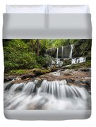 Waterfall Jocassee Gorges Upcountry South Carolina Duvet Cover