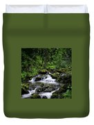 Waterfall Medley Duvet Cover