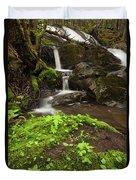 Waterfall Oasis  Duvet Cover