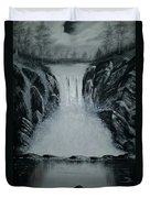 Waterfall Of Life Duvet Cover