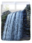 Waterfall Of The Grist Mill Duvet Cover