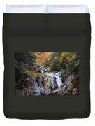 Waterfall Off Blue Ridge Parkway Duvet Cover