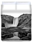 Waterfall Reflections Duvet Cover