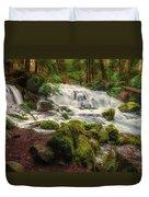 Waterfall Reverie Duvet Cover