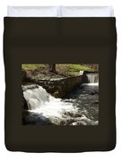 Waterfall Times Two Duvet Cover