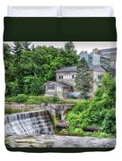 Waterfalls Cornell University Ithaca New York 04 Duvet Cover