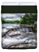 Waterfalls Cornell University Ithaca New York 07 Duvet Cover