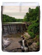 Waterfalls Cornell University Ithaca New York 08 Vertical Duvet Cover