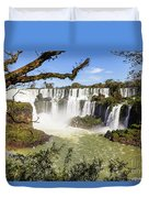 Waterfalls In Frame Duvet Cover