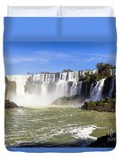 Waterfalls Wall Duvet Cover