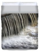 Waterflow Waterfall On A Small Creek Duvet Cover