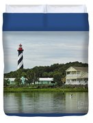 Historic Waterfront Beauty Duvet Cover