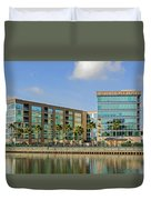 Waterfront Hotel Duvet Cover