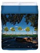 Waterfront Park. Duvet Cover