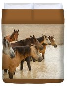 Waterhole Band Duvet Cover