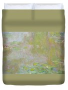 Waterlilies At Giverny Duvet Cover