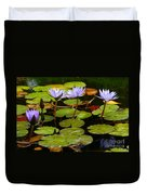 Waterlilies Duvet Cover