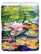 Waterlilies Impressionism Duvet Cover