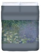 Waterlilies Morning Duvet Cover