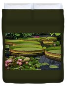 Waterlilies North And South Duvet Cover