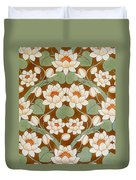 Waterlily Ogee Duvet Cover
