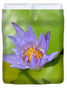 Waterlily Shadow Of Perfection Duvet Cover