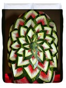 Watermelon Art Duvet Cover