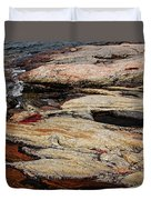 Water's Edge - Wreck Island Duvet Cover