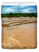 Waters Of Thwake Duvet Cover