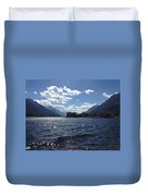 Waterton Lake Duvet Cover