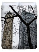 Watertower Chicago Duvet Cover
