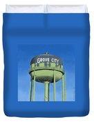 Watertower Grove City Duvet Cover