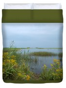 Watery Path Duvet Cover