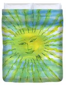 Watery Sunshine Duvet Cover