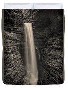 Watkins Glen Cavern Cascade #5 Duvet Cover