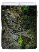 Watkins Glen State Park New York_dsc9599_16 Duvet Cover