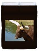 Watusi Bull Duvet Cover