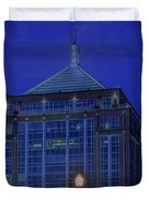 Wausau's Dudley Tower At Sundown Duvet Cover