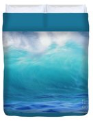 Wave And Windspray Duvet Cover by Vince Cavataio - Printscapes