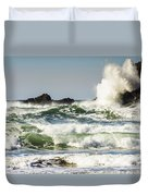 Wave Impact Duvet Cover